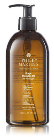 GRAPE MASSAGE OIL - olejek do masażu Philip Martin's - 500 ml